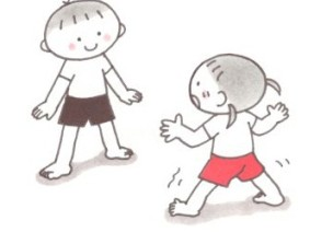 体育课游戏   5岁宝宝柔韧性锻炼小游戏