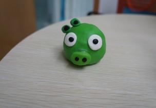 萌萌的绿皮猪