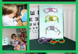 眼镜店——区角游戏