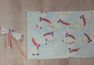 幼兒手工--飛吧飛吧,小蜻蜓