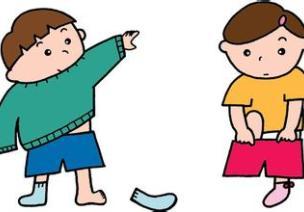 用儿歌教会孩子穿脱衣服的方法