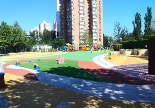 幼儿园户外区间划分亮点
