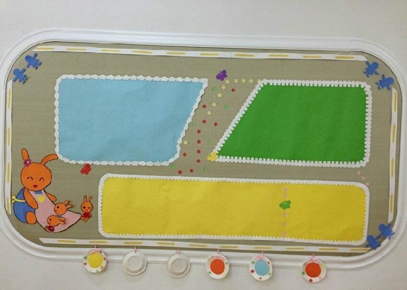 家园联系栏 | 木板和纸板为背景的家园栏设计
