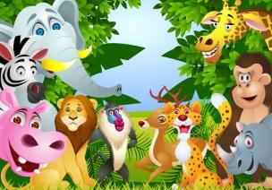 幼儿园大班主题教案:给动物找工作