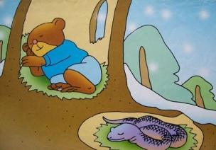小班綜合教案:《小動物是怎樣過冬的》