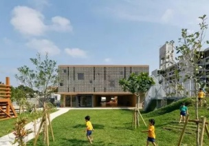 日式岛屿幼儿园整体设计
