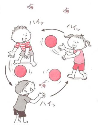体育课游戏   5岁宝宝灵巧性锻炼小游戏
