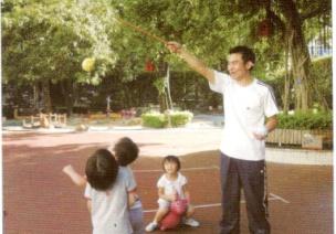 小班跳跃体育游戏--摘果子