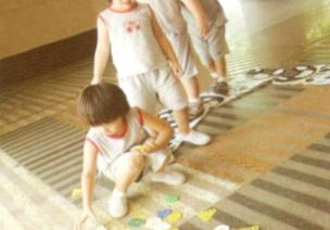 小班跳跃体育游戏--小白兔采蘑菇