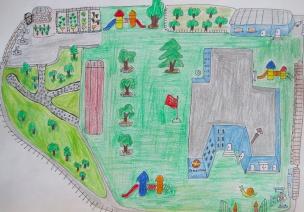 新入园的孩子因为这个地图爱上了幼儿园