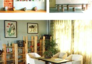 自然时尚风格的美术室、科学室