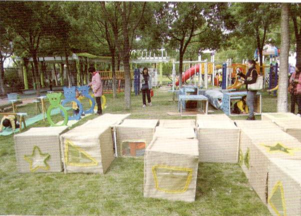 野趣+童趣 | 室内外游戏和运动环创设计