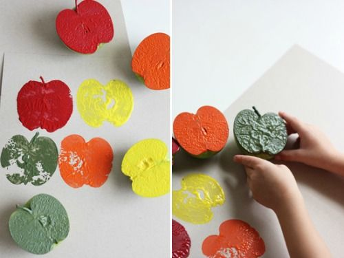 fall-craft-projects-for-kids-apple-stamping