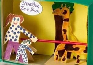 鞋盒变身过家家游戏盒