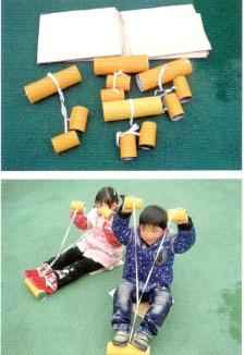 自制玩具   户外体育器材不再愁,让孩子快乐游戏~