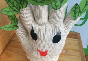 简单的手套能做出这么美的东西?