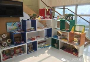 幼儿园区角环创——美工区、表演区