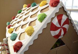 可爱的纸箱糖果屋-角色区