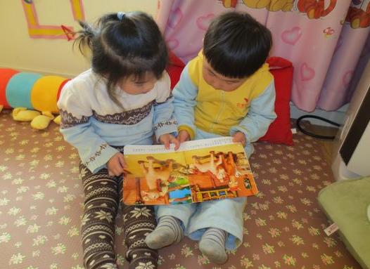 【小班观察记录】阅读区的图书取放