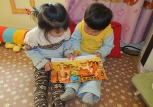 【小班觀察記錄】閱讀區的圖書取放