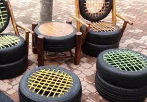 废旧轮胎的第二次生命比第一次更魅力