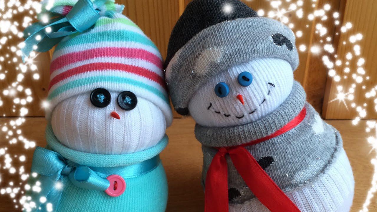 超萌圣诞雪人吊饰集锦-废旧利用