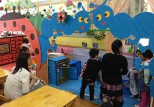 浅谈幼儿活动区活动中教师的适宜行为