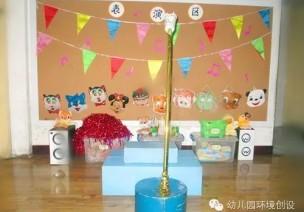 梦想的舞台—幼儿园表演区环创欣赏(2)
