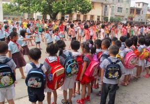 参观小学活动方案+安全预案+活动小结
