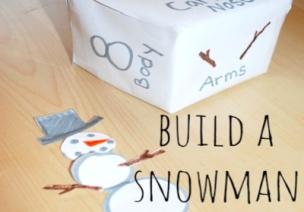 冬季小游戏---掷骰子拼雪人