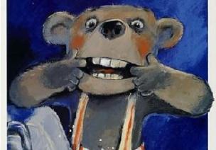 大班健康活动:小熊不刷牙