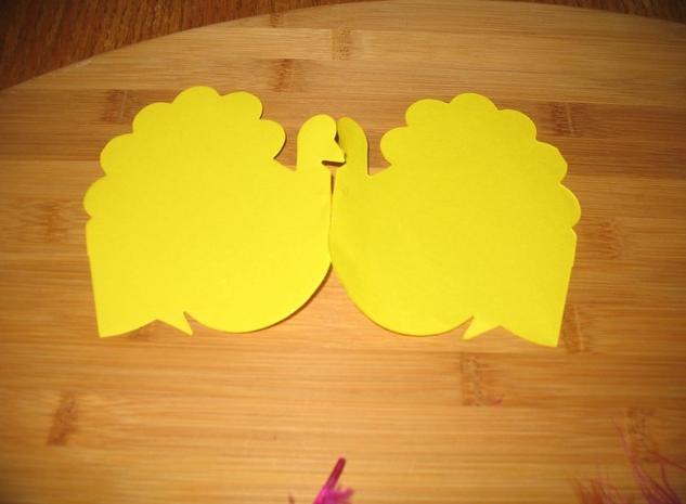 感恩節手工制作:火雞