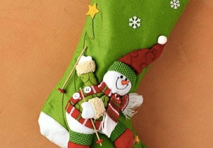 圣诞节袜子欣赏-吊饰