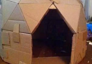 纸箱打造活动区的一切装备