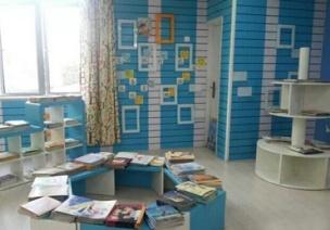 活动区布置——阅读区