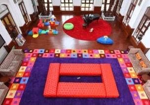 班级活动室环境布置——建构室、表演室