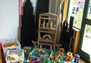 幼儿园环创——建构区