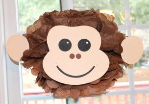 小猴子的吊饰、墙饰集合