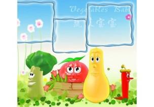 [视频]小班艺术《我和蔬菜宝宝做朋友》