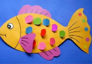 小班美术:美丽的大鱼
