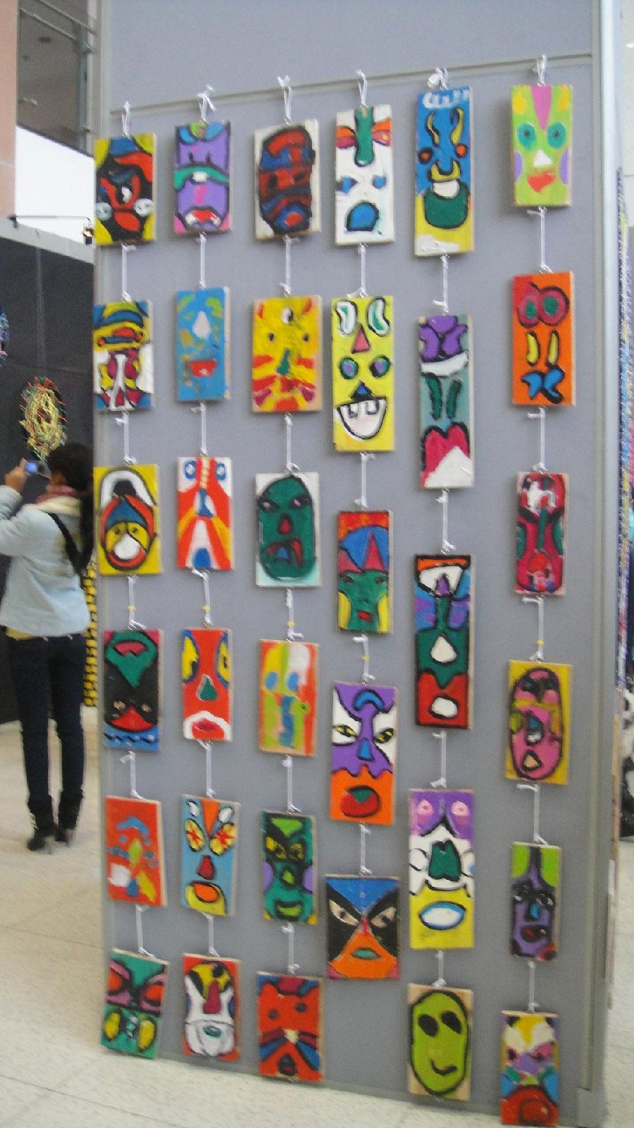 美工区创意展品展示,你会有意想不到的收获