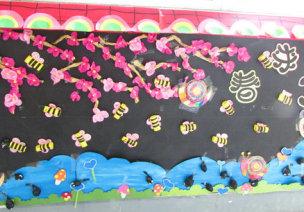 春季主题墙及墙面布置