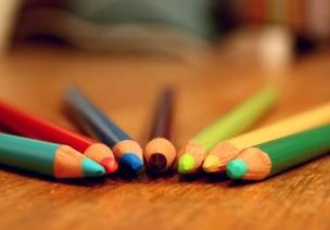 奇妙的彩色铅笔盒