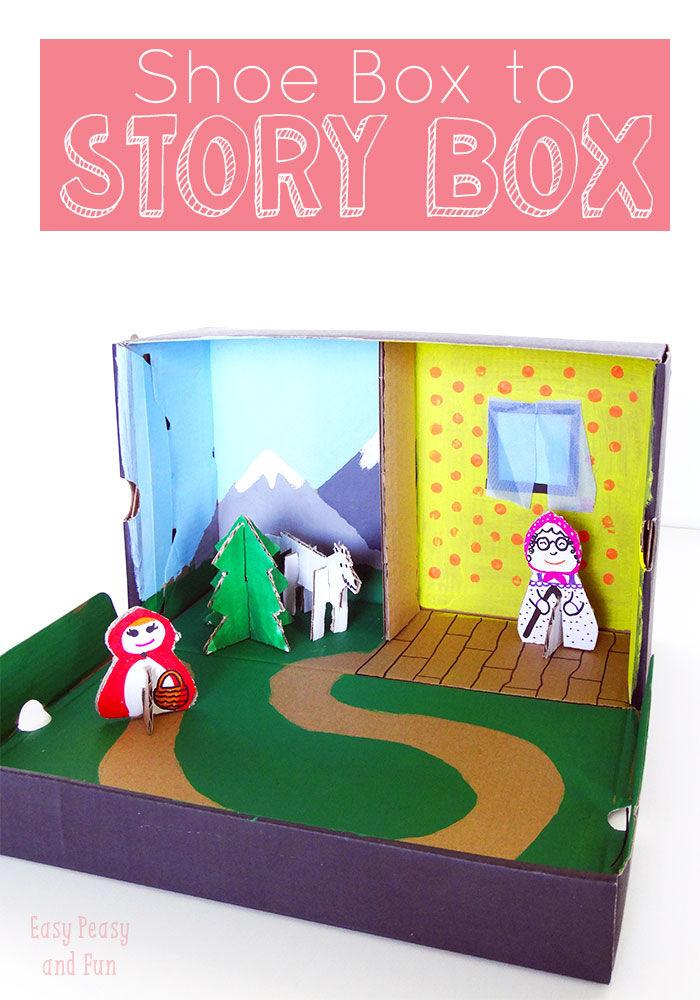 Shoe-Box-Craft-Story-Box