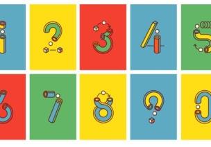大班数学活动:有趣的数字