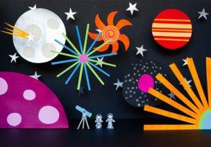 10大超赞手工游戏让孩子轻松认知宇宙!