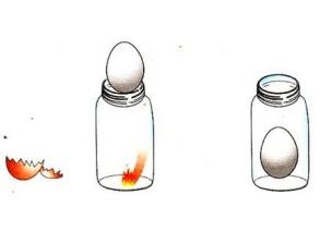 大班科学:会吃鸡蛋的瓶子