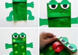 手工 | 脑洞大开陪孩子玩一次性纸袋吧!