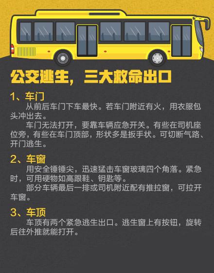 突如其来的公交车事故,如何救命?
