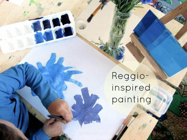 reggio-observational-painting-with-flowers-an-everyday-story